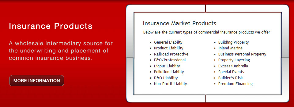 Insurance Market Products
